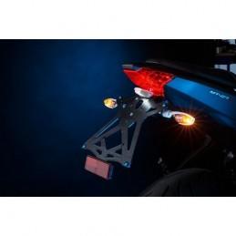 Portatarga Regolabile Rosso con Luce Targa Panigale 899/1199/1299 '12-16