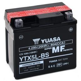 BATTERIA YUASA YTX5L-BS