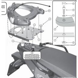 Portapacchi Bmw F650gs F700gs F800gs