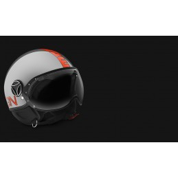 Fgtr Evo Metal – Decal Arancio fluo outline nera